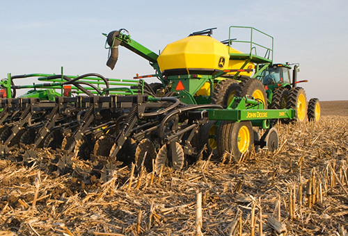 No-till seeding in US Mid-West